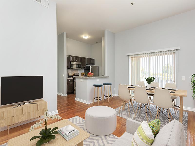 Living Room | Hollywood Backlot Homes
