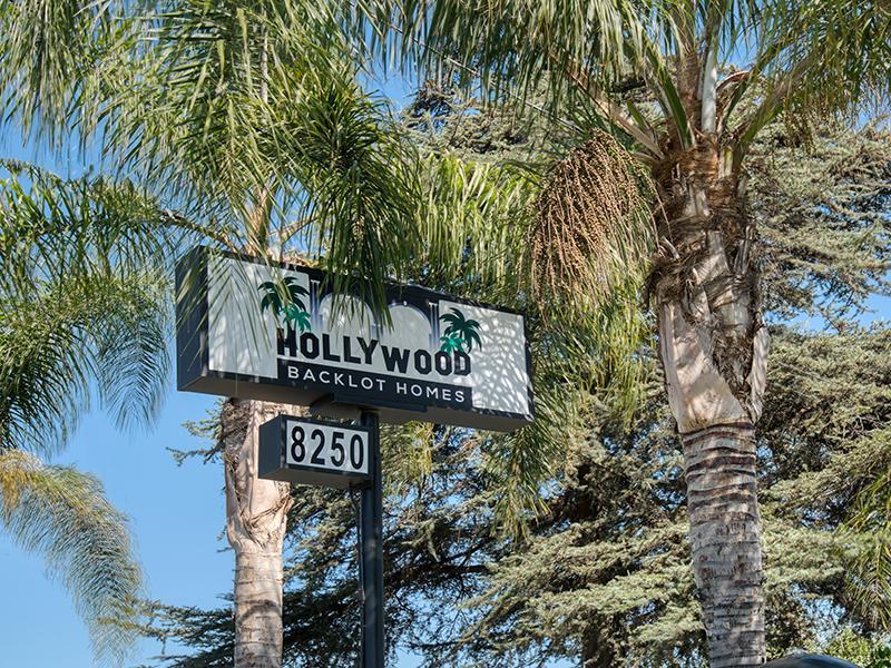 Sign | Hollywood Backlot Homes