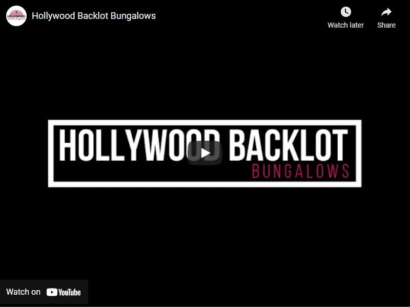 Virtual Tour of Hollywood Backlot Bungalows Apartments