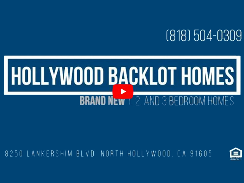 Virtual Tour of Hollywood Backlot Homes Apartments