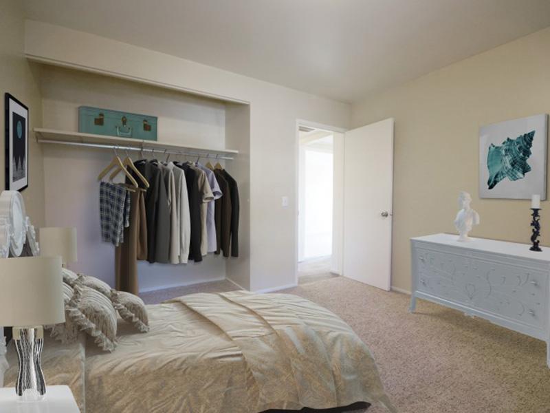 Bedroom | Spacious Closets | Country Lake