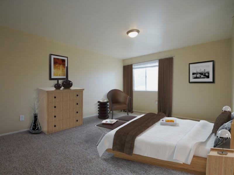 Bedroom | 1, 2 Bedroom Apartments | Salt Lake City