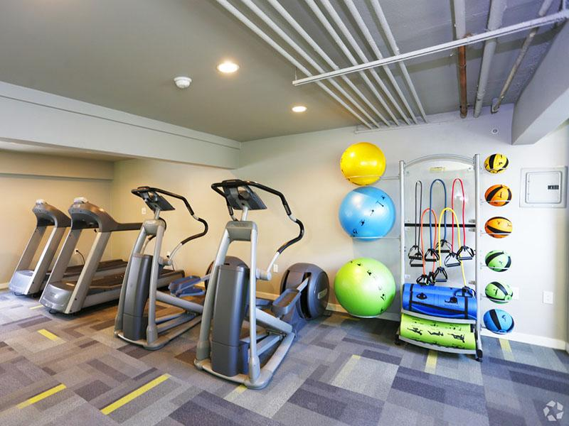 Fitness Center | Lake Balboa Townhomes