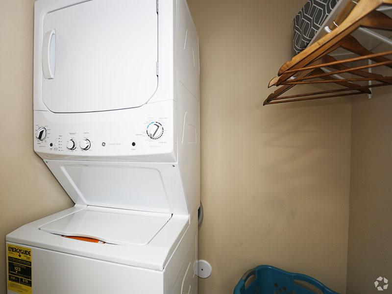 Laundry room overview | One bedroom