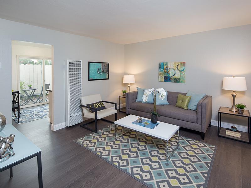 Living Room   Greenleaf Apartments in Hayward, CA