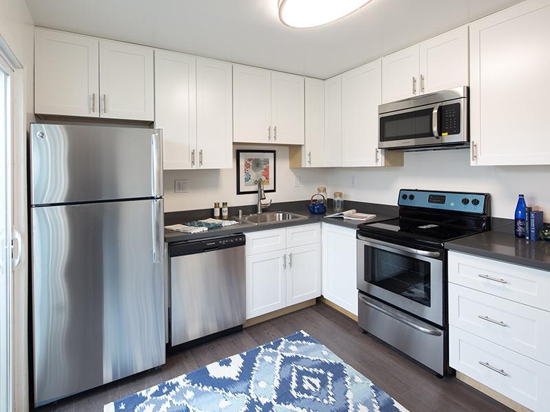 Kitchen    Greenleaf Apartments in Hayward, CA