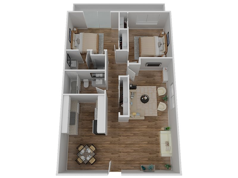 Floor Plans for Vivante Apartments in Hayward