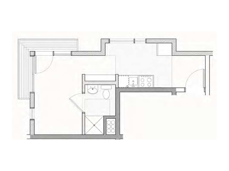 View floor plan image of Miami apartment available now