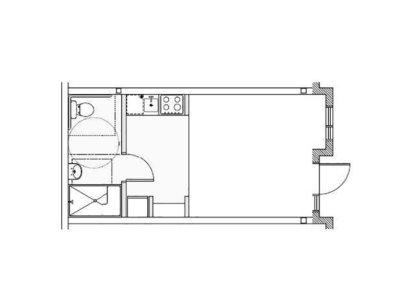 View floor plan image of Tulsa apartment available now