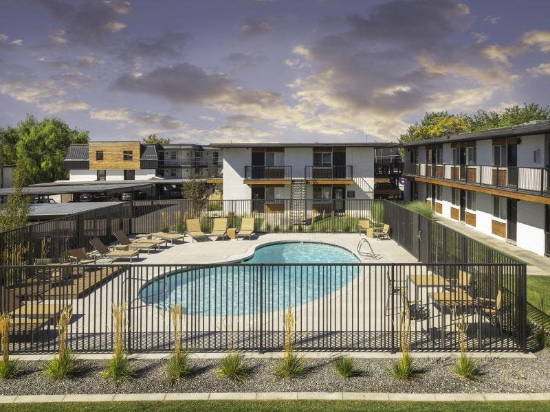 Joshua Tree Apartments | Exterior Pool | SLC , UT