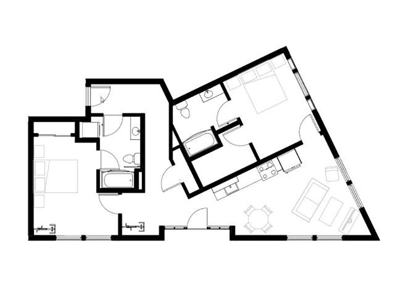 Northwood Apartments Floor Plan Centennial