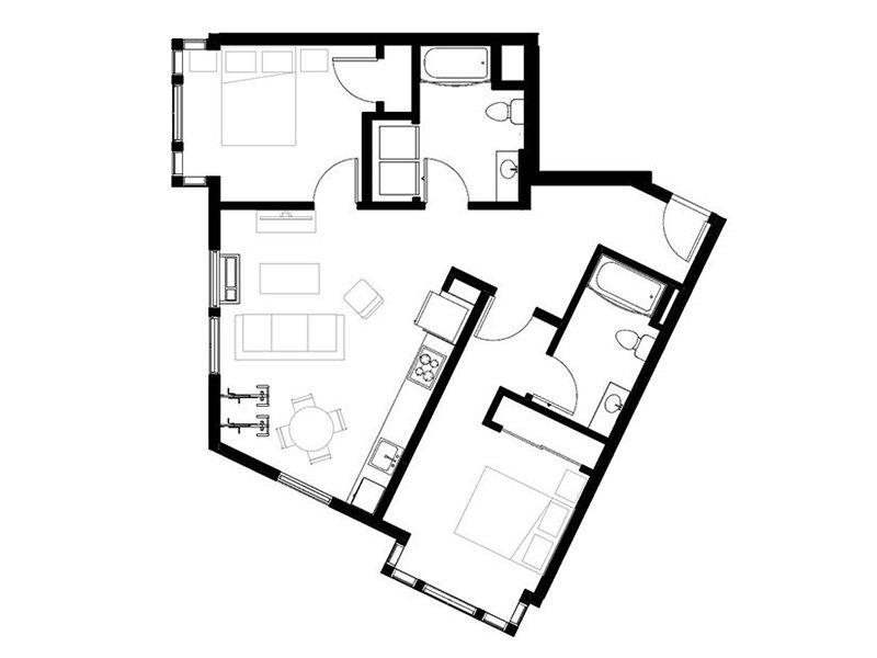 Northwood Apartments Floor Plan Derby