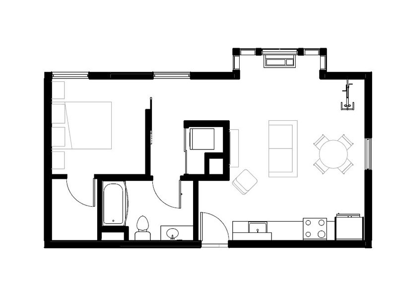 Northwood Apartments Floor Plan Kenwood