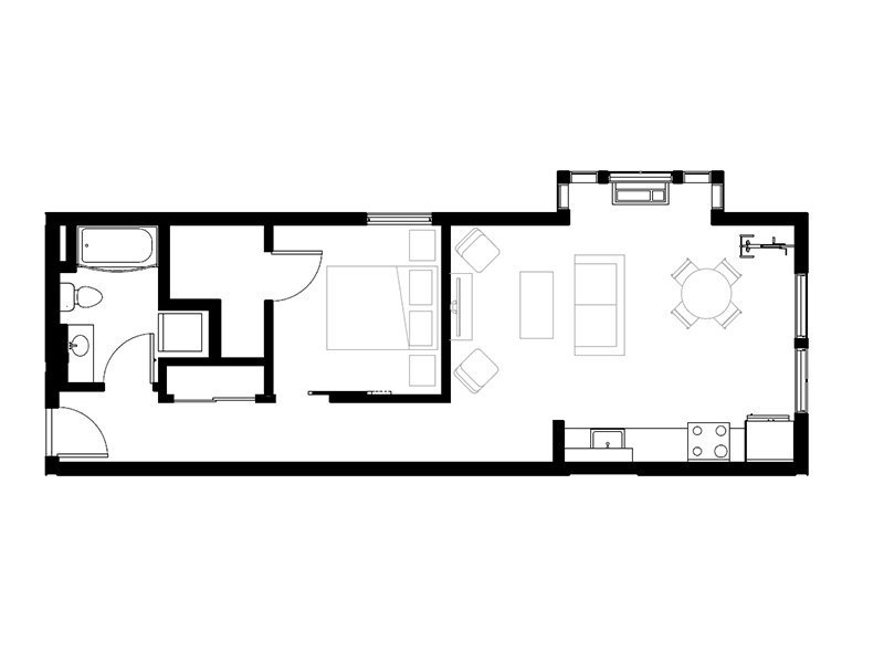 Northwood Apartments Floor Plan Lombard
