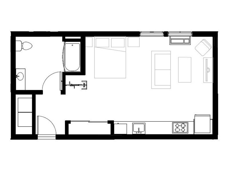 Northwood Apartments Floor Plan Lucette