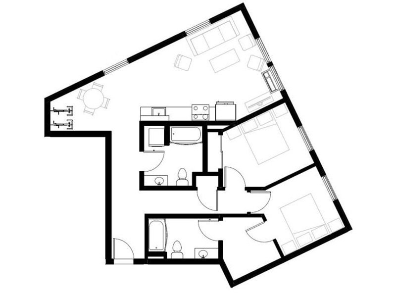 Northwood Apartments Floor Plan Swift