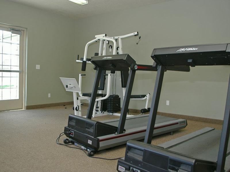 Fitness Center | Logan Landing Town Homes