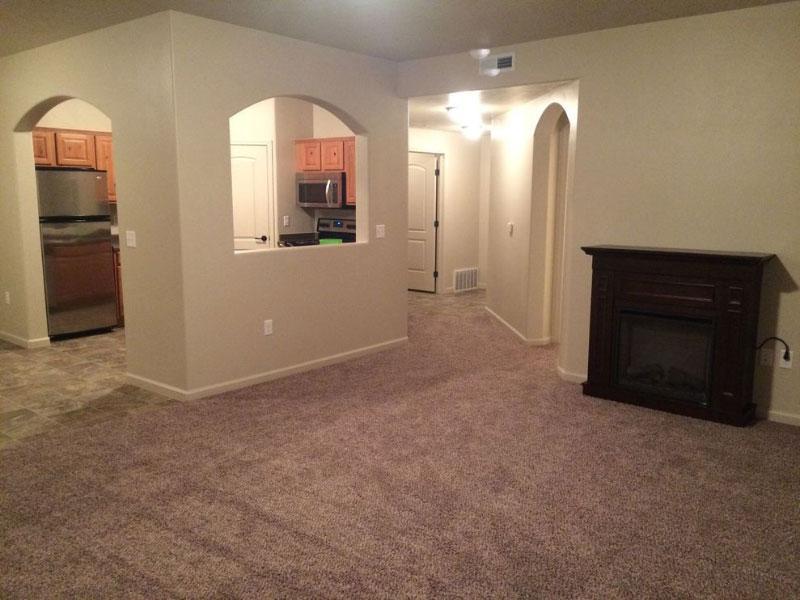 Blackmore | Interior | Living Room Kitchen view