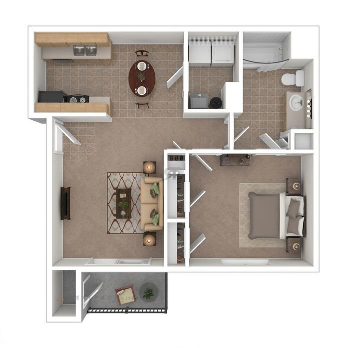 1 Bedroom 1 Bath apartment available today at The Village at Silver Ridge in Rock Springs