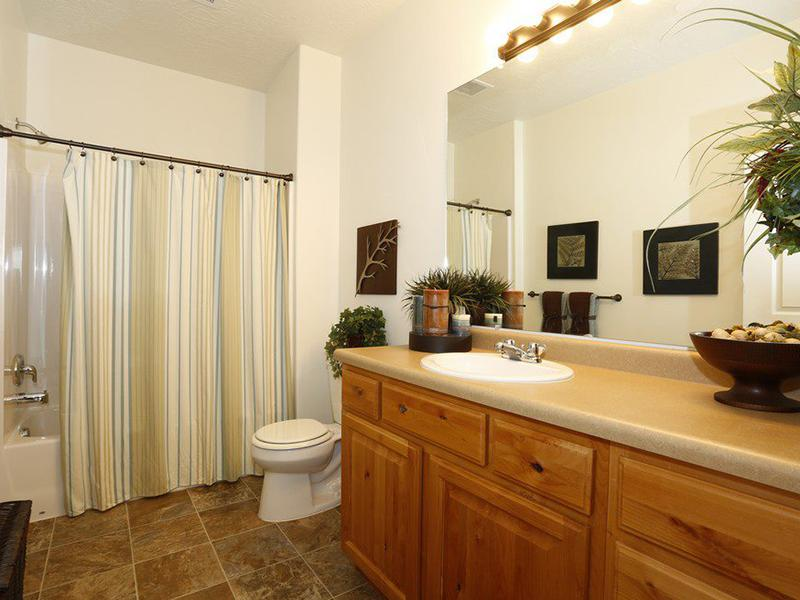 Bathroom | The Village at Silver Ridge