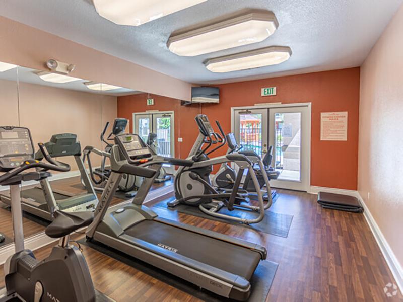 Fitness Center   Crocker Oaks Apartments in Roseville, CA