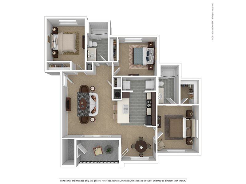 3 Bedroom 2 Bath apartment available today at Crimson Point in Kuna