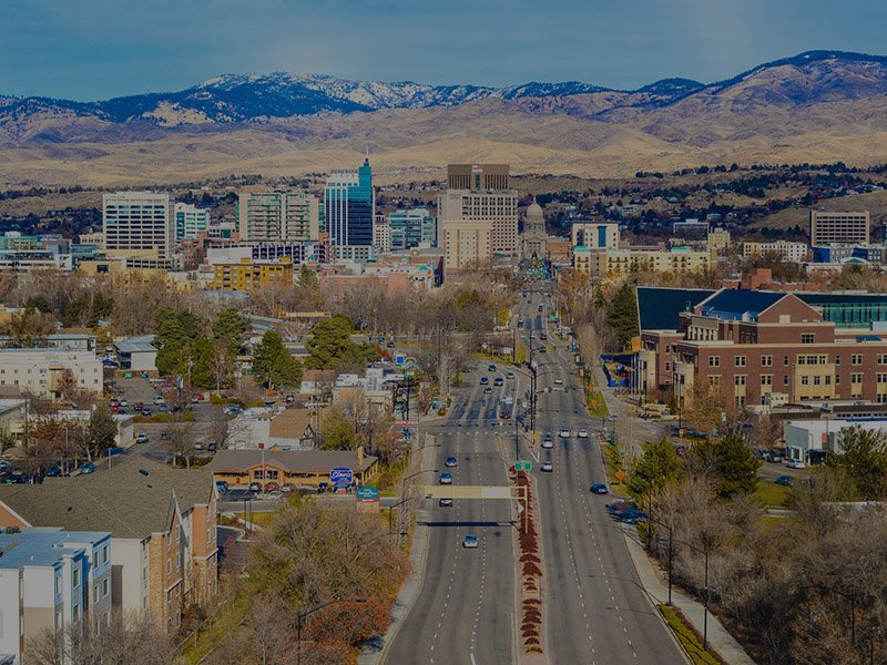 Downtown Nampa & Boise nearby Crimson Point Apartment Community