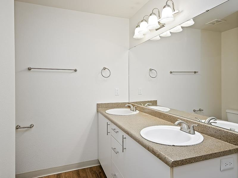 Dual Sinks | Orchard Place Apartments in Nampa, Idaho