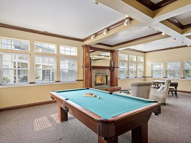Pool Table | Orchard Place Apartments Idaho