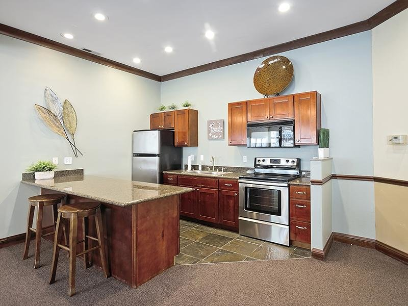 Community Kitchen   Orchard Place Apartments in Idaho