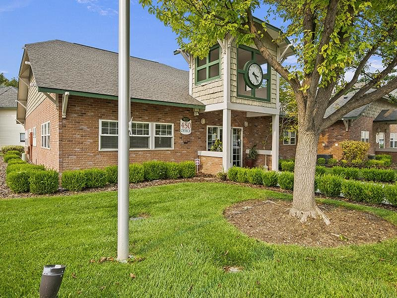 Clubhouse Exterior   Orchard Place Apartments in Nampa, Idaho