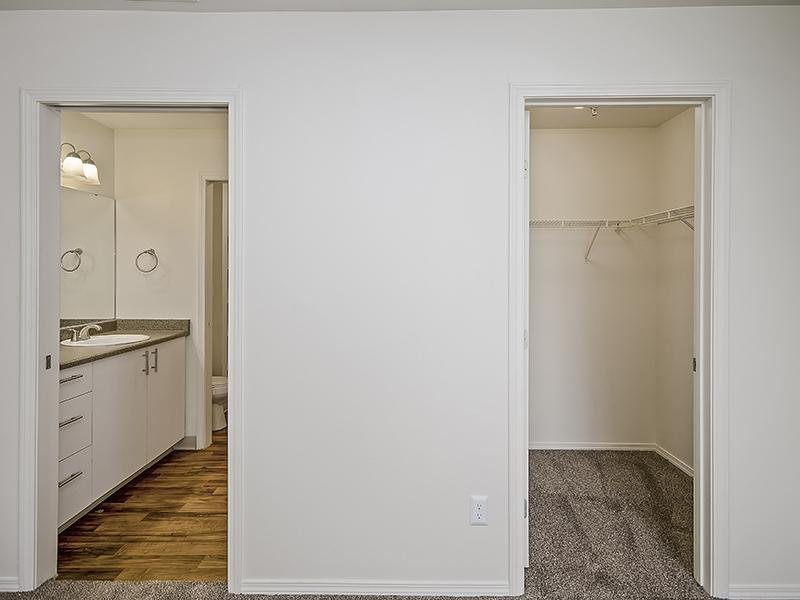 Walk In Closet   Orchard Place Apartments in Nampa, Idaho