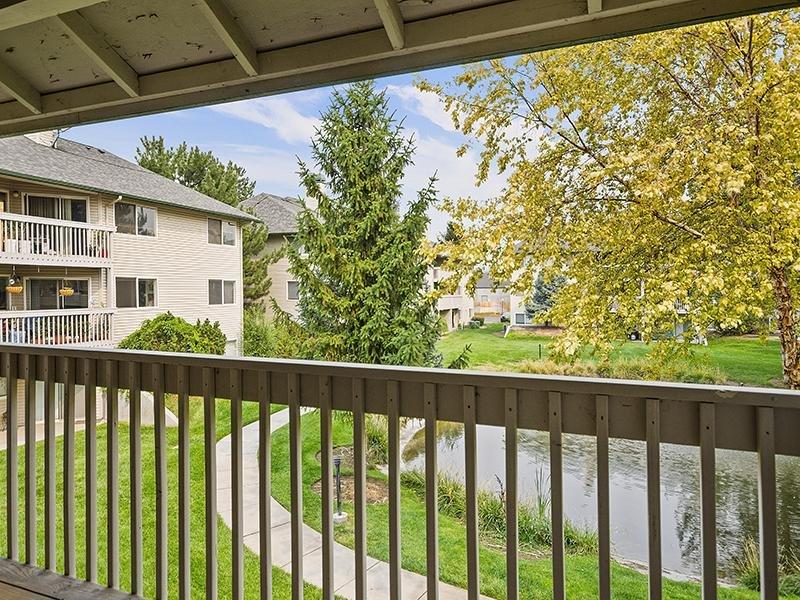 Balcony | Orchard Place Apartments in Nampa, Idaho