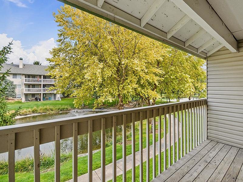 Balcony View | Orchard Place Apartments in Nampa, Idaho