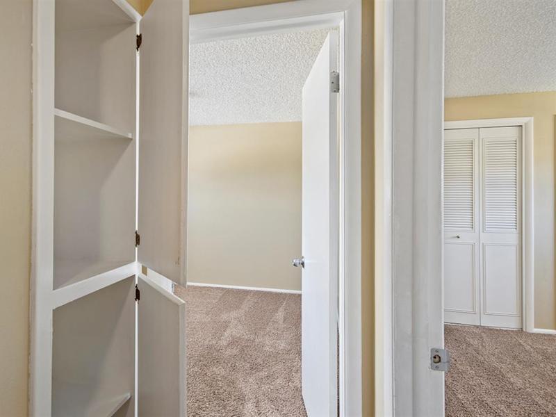 Built In Shelves | Medallion Apartments