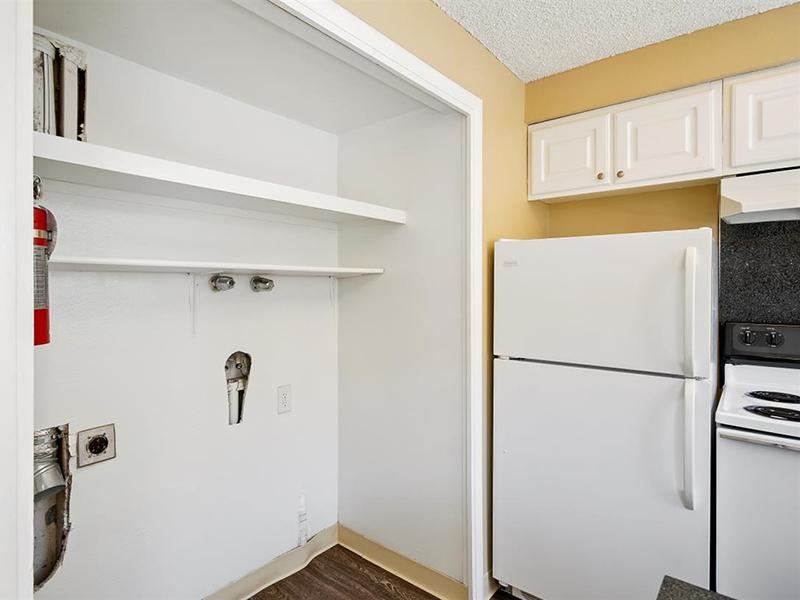 Utility Closet | Medallion Apartments