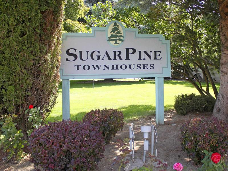 Welcome Sign | Sugar Pine Townhomes | Boise, ID