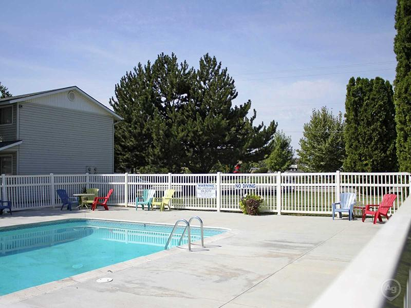 Swimming Pool | Sugar Pine Townhomes in Boise, ID