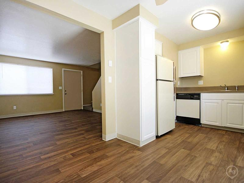 Kitchen | Living Room | Townhomes in Boise