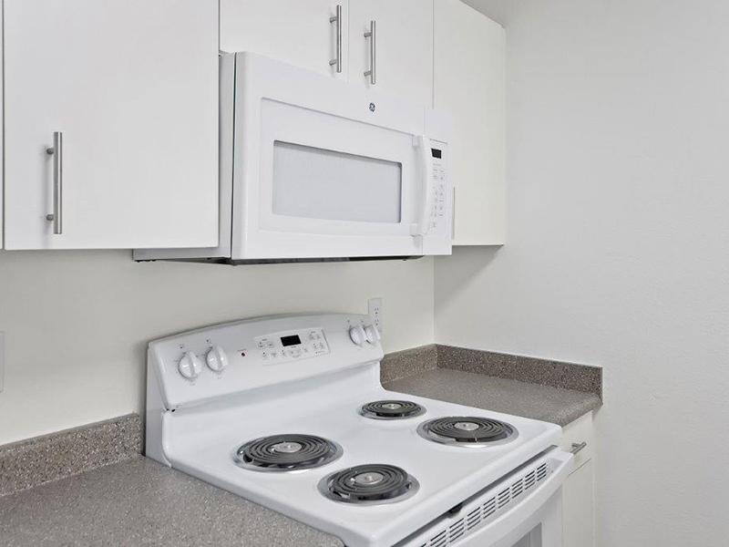 White Appliances | Cedar Square Apartments