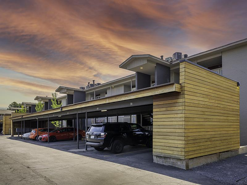 Covered Parking | The Shenandoah