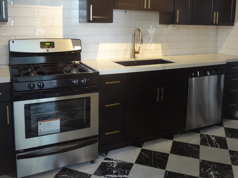 Kitchen - Hillcrest Apartments in Salt Lake City,