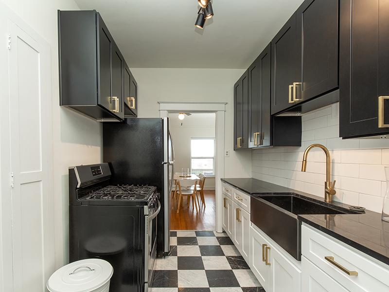 Kitchen | Hillcrest Apartments in Salt Lake City, UT