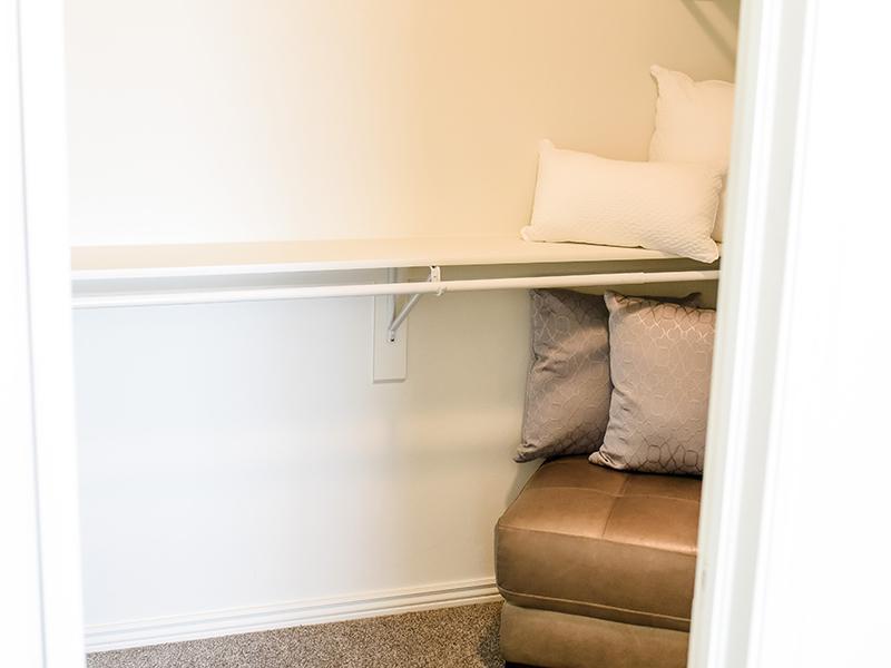 Bedroom Closet | Settlers Landing