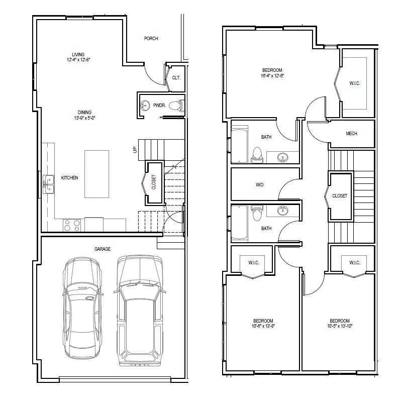 Madrona Apartments Floor Plan A-1