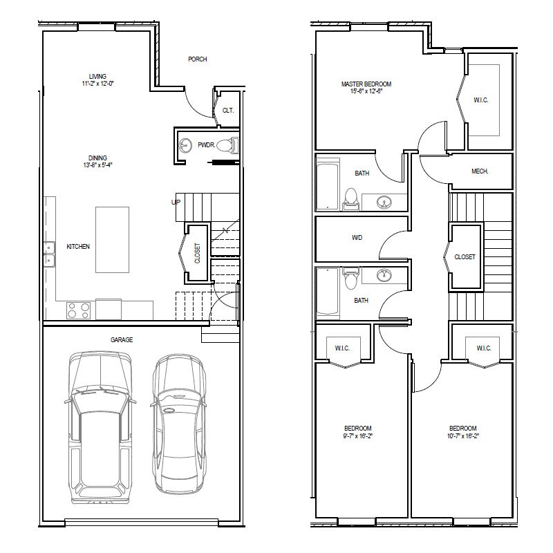 Madrona Apartments Floor Plan A-2