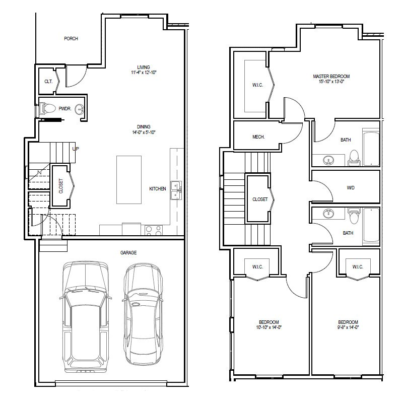 Madrona Apartments Floor Plan A-4