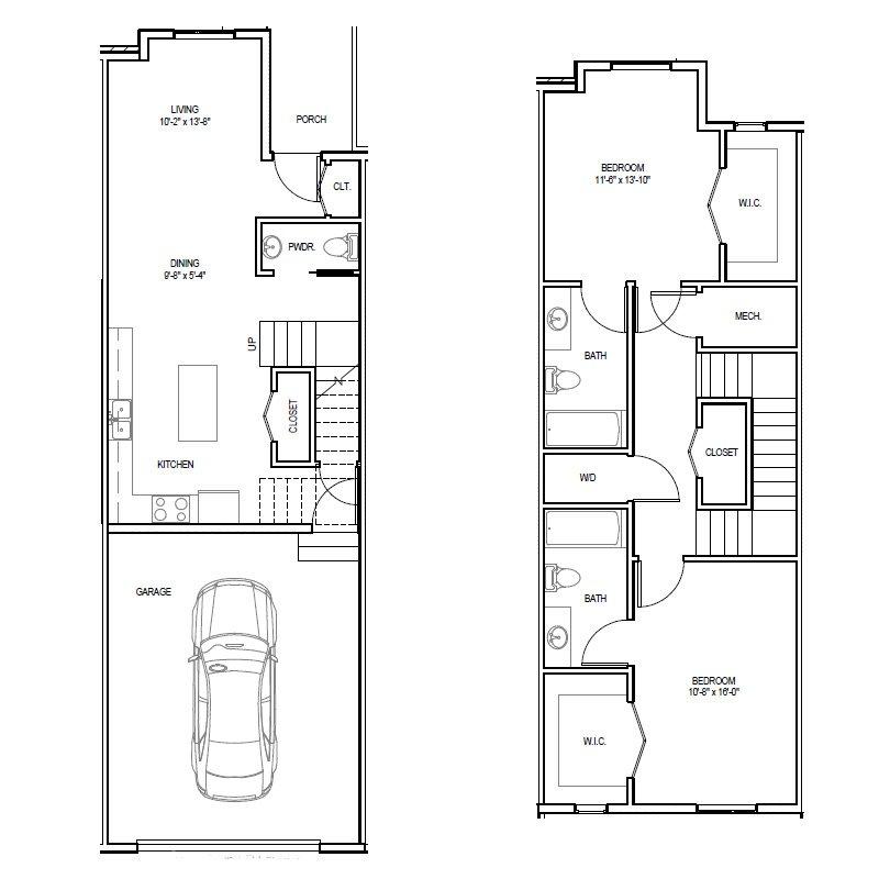 Madrona Apartments Floor Plan B-1