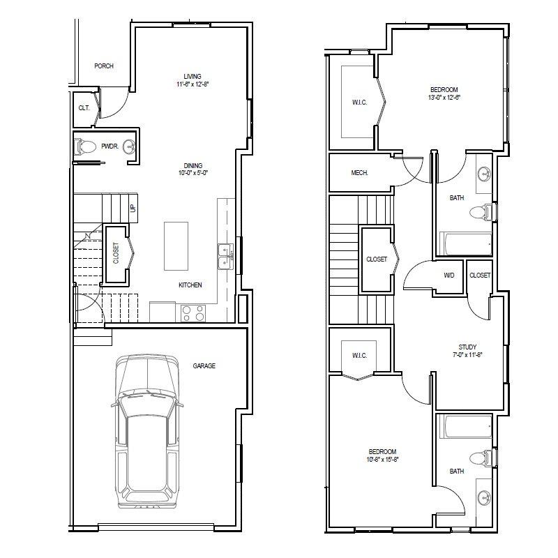 Madrona Apartments Floor Plan B-2