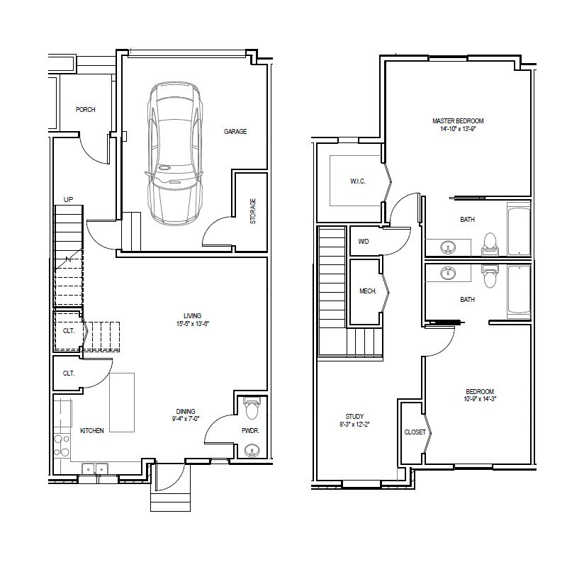 Madrona Apartments Floor Plan C-1